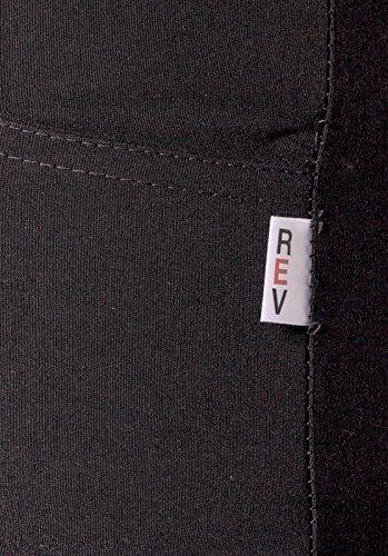 Para mujer, ropa de descanso para niñas negro con cremallera para adaptarse al cuerpo de pelo fino de espacios escuela u de destornilladores pantalones de trabajo