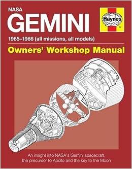 Gemini Manual Owners Workshop Manual Amazoncouk David Woods