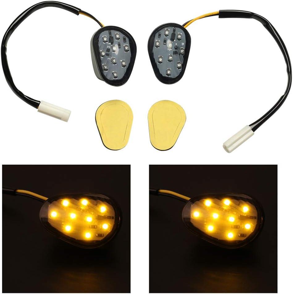 2pcs Turn Signals Lights LED for Yamaha YZF R1 2002-2012,YZF R6 2003-2012