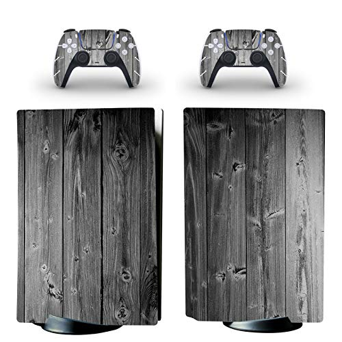 gotor Vinyl Skin Decals Cover Wrap Sticker Faceplate for PS5 Playstation 5 Console and 2 Controllers Skins (Playstation 5 (Not The Digital Edition), B12)