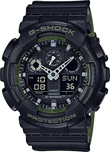 Casio G-Shock Black Military GA100L-1A Watch for sale  Delivered anywhere in Canada