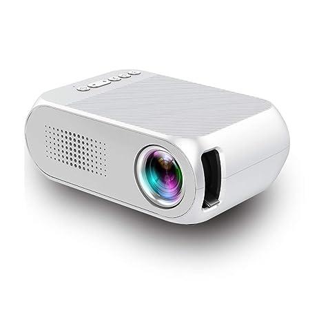 JANRON LED Mini Proyector Cine en Casa Proyectores 1080P ...