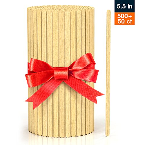 - Wood Coffee Stirrers 5.5