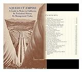 Aqueduct Empire, Erwin Cooper, 0870620088