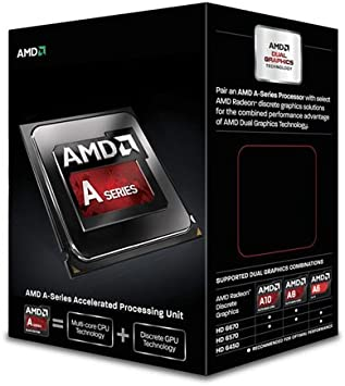 Amazon Com Amd Quad Core A8 Series Apu A8 6600k With Radeon Hd 8570d Ad660kwohlbox Computers Accessories
