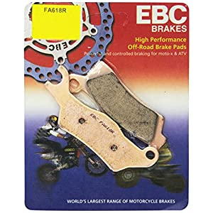 EBC Brakes FA618R R Series Sintered Disc Brake Pad