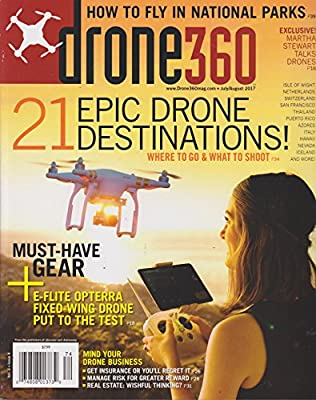 Drone 360 Magazine July/August 2017 by Various