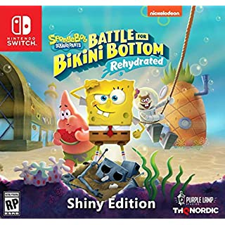 Spongebob Squarepants: Battle for Bikini Bottom - Rehydrated - Shiny Edition (Nintendo Switch) - Nintendo Switch Shiny Edition