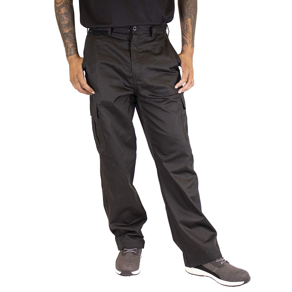 schwarz 35 30S Lee Cooper Workwear LCPNT205 Cargo Pant