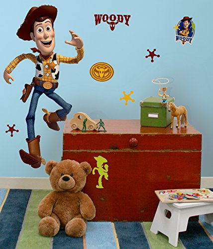 Toy Story - Woody Peel & Stick Giant Wall Decals 27 x 40in