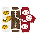 football baby leg warmers - Bowbear Baby 3-Pair Leg Warmers, Basketball, Football, Baseball