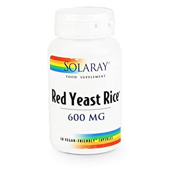 Solaray Red Yeast Rice - 600mg 60 capsule