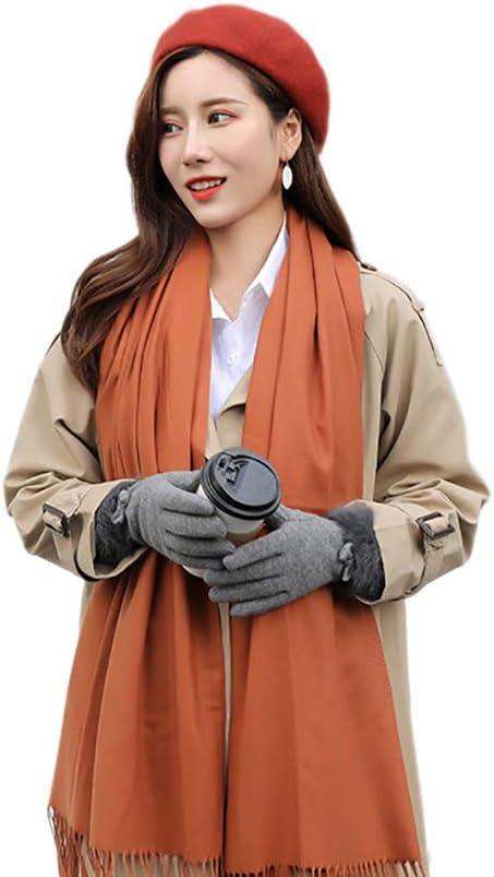 Balight Beret Cap Lady donna in stile retr/ò leggero traspirante cappello caldo esterno autunno inverno copricapo
