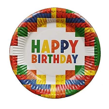 CZDXM Papel de Fiesta de cumpleaños para niños Bandeja de ...