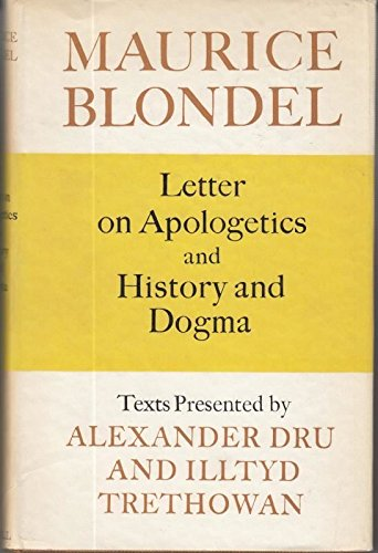 letter on apologetics and history and dogma
