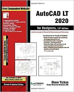 AutoCAD LT 2020 for Designers, 13th Edition: Amazon.es: Purdue Univ., Prof. Sham Tickoo, Technologies, CADCIM: Libros en idiomas extranjeros