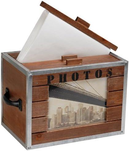 La Chaise Longue 29-C2-153 - Caja para álbumes de Fotos (Madera y ...