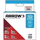 Arrow Fastener 505 Genuine T50 5/16-Inch Staples, 1,250-Pack