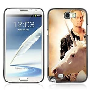YOYOSHOP [LOL Unicorn & Barney] Samsung Galaxy Note 2 Case by Maris's Diary
