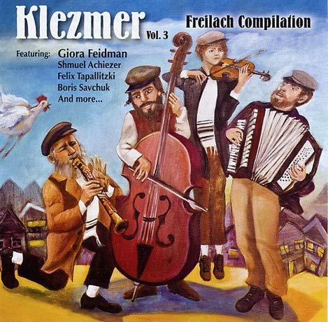 Klezmer Freilich Comp. 3 Vol. Super Opening large release sale Special SALE held