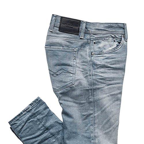 Uomo Jeans Jondrill Replay Blue Skinny qt786