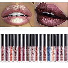 Coosa 3pcs Madly MATTE Lipstick Lipgloss Bold Vivid Color Matte Lipgloss (16 colors for choose )