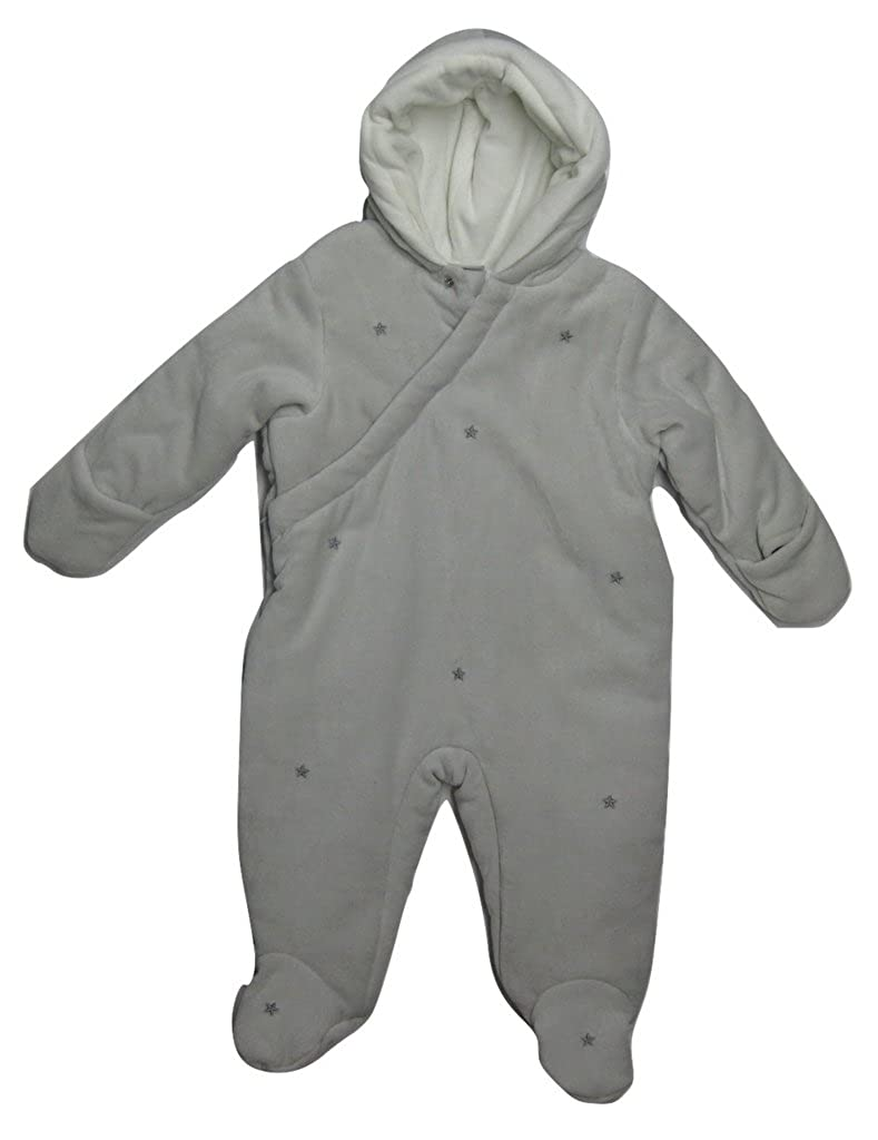 4119c2e25 Amazon.com  First Impressions Baby Girls  Star Footed Snowsuit