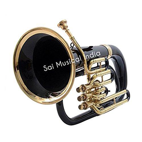 Queen Brass Euphonium Black + Brass Bb 3 valve by Queen Brass