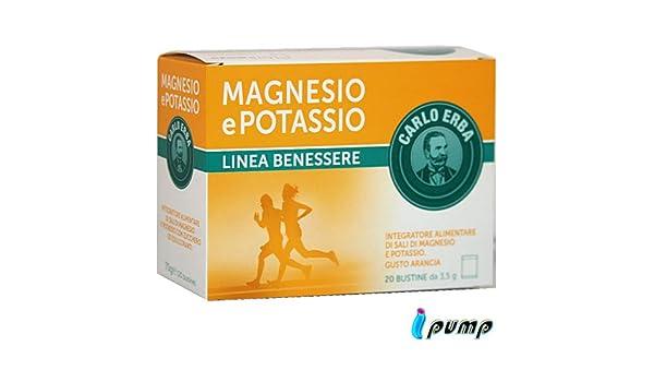 Carlo Hierva Magnesio y Potasio 20bst: Amazon.es: Salud y cuidado personal