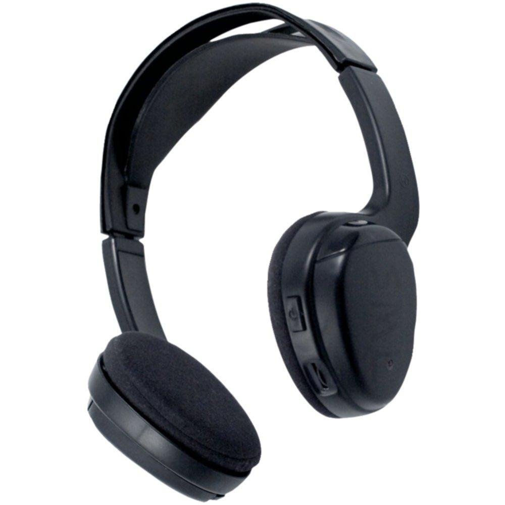 POWER ACOUSTIK WLHP-200 1-Channel Wireless IR Headphones consumer electronics