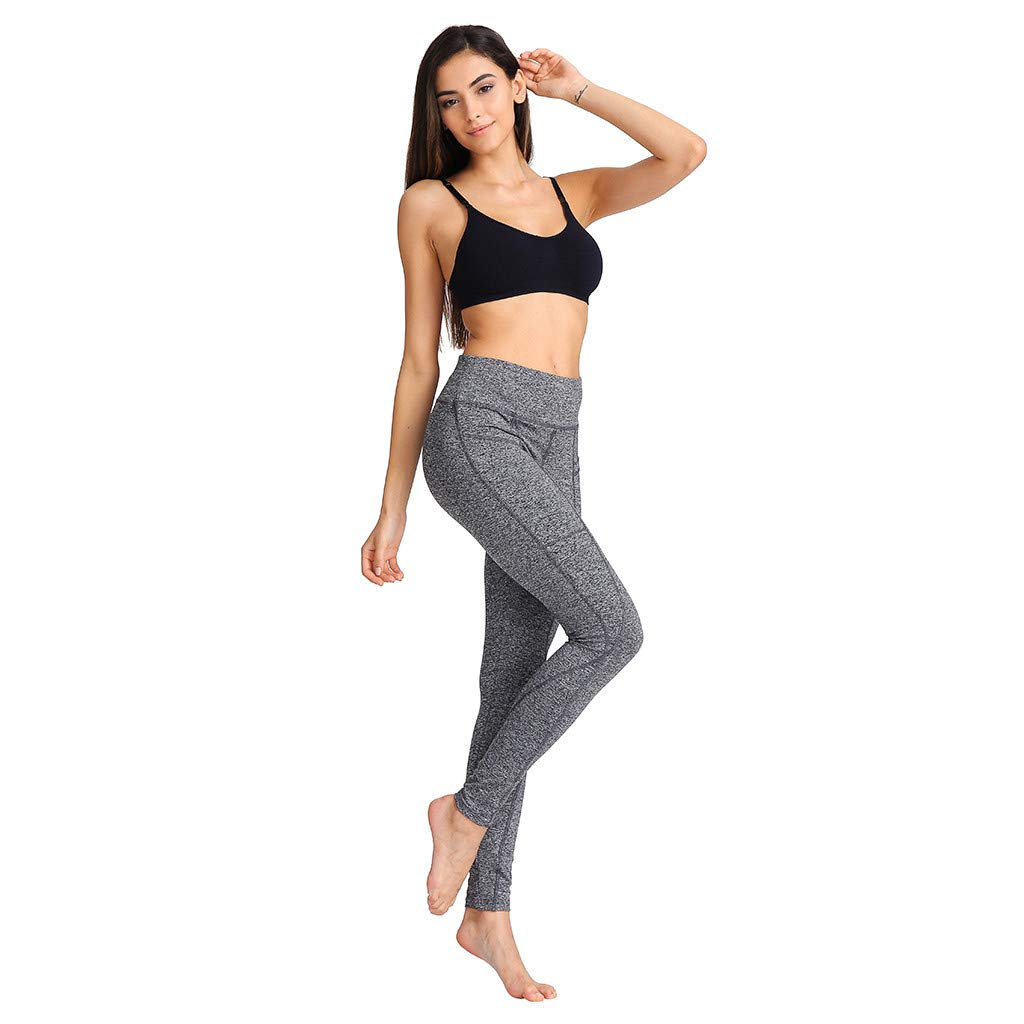 7d295cc002a7d Amazon.com: NEARTIME Leggings Women, 2019 Fashion Workout Pants Fitness  Sports Gym Running Yoga Athletic Pants for Ladies: Sports & Outdoors