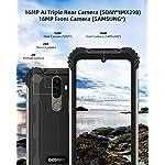 Telephone Portable Incassable, DOOGEE S58 Pro (2020) Smartphone Débloqué 4G, 5.71 Pouces, Android 10.0, 6Go+64Go, 16MP… 9