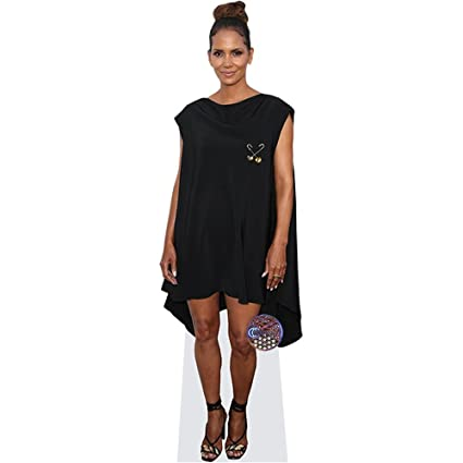 Amazon Halle Berry Black Dress Mini Cutout Posters Prints