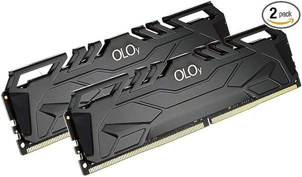 Oloy Ddr4 Ram 16gb 2x8gb 3200 Mhz Cl16 1 35v 288 Pin Desktop Gaming Udimm Md4u0832160bj0da At Amazon Com