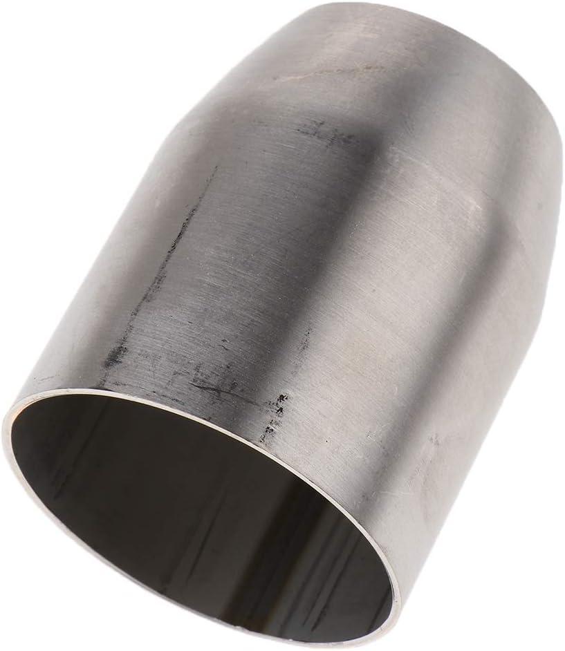Non Brand 51mm Auf 38mm Rohrreduzierung Auspuff Adapter Reduzierverbinder Reduzierstück Für Suzuki Gsr750 Gw250 65 Mm Lang Auto