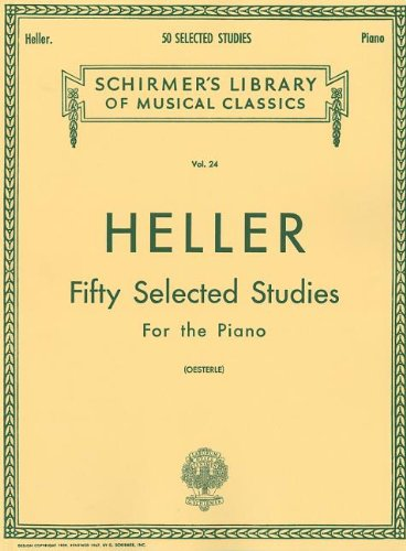 50 Selected Studies (from Op. 45, 46, 47): Piano Technique (Schirmer's Libray Of Musical Classics, Vol. 24)