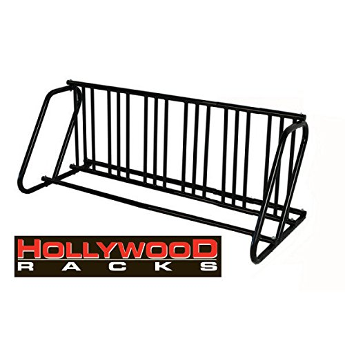 Hollywood Racks PS-12HD Dual Use 12 Bike Parking Stand, Black, 12 Bikes ()