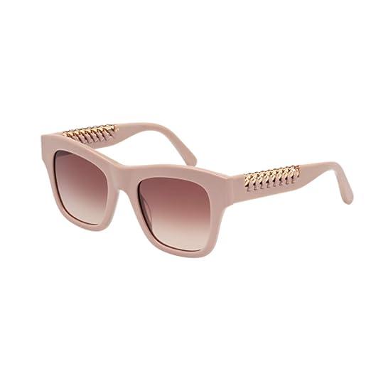 ccae72f80e Image Unavailable. Image not available for. Color  Stella McCartney Women s Chain  Square Sunglasses ...