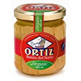 Organic Bonito del Norte Tuna in Extra Virgin Olive Oil by Ortiz (220 gram)