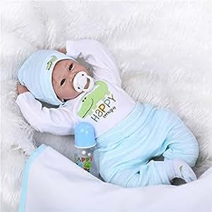 Amazon SanyDoll Reborn Baby Doll Soft Silicone vinyl