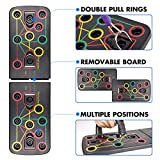 KBY Push Up Board System with Pull Rope,13 in 1