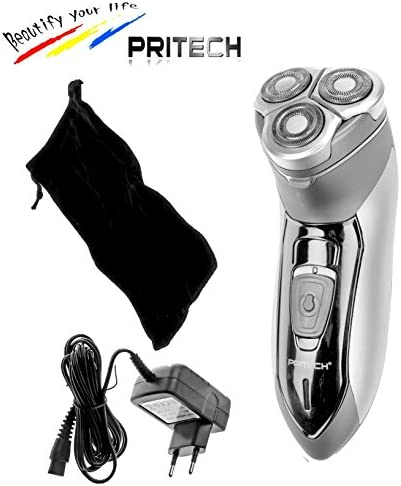 Pritech-Afeitadora eléctrica inalámbrica recargable, resistente al ...