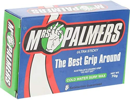 Pack of 4 x 70g Bars Mrs Palmers Surf Wax Cold