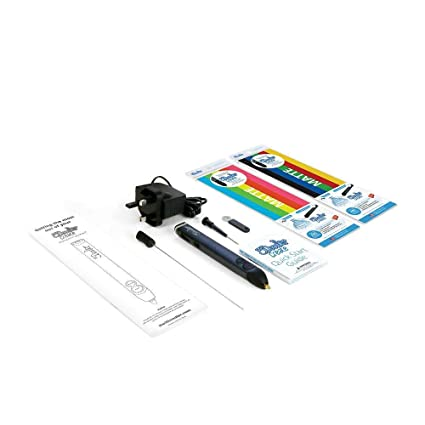 ce573010 Amazon.com: 3Doodler Create 3D Pen with 50 Plastic Strands, No Mess,  Non-Toxic -: Toys & Games