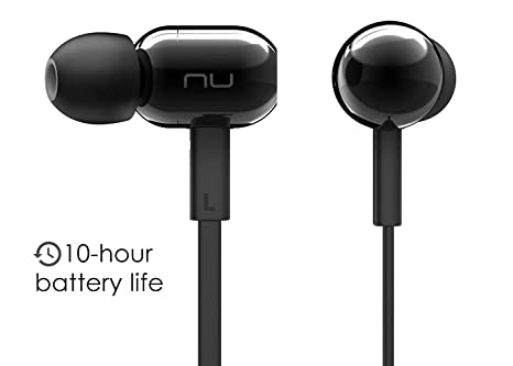 9250f8e3fcf NuForce BE Live2 Affordable Wireless Earbuds with Microphone, Gym Headphones,  10h Battery, AAC