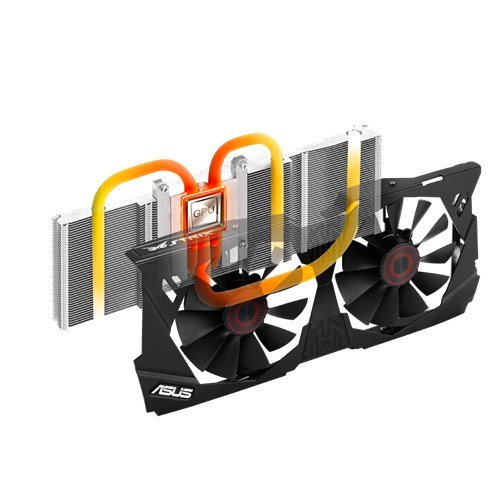 ASUS STRIX GeForce GTX 970 Overclocked 4 GB DDR5 256-bit