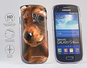 Funda Carcasa dura para Samsung Galaxy S3 mini - Perro del Dachshund