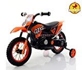 Baybee Kawasaki Super Racing Battery Operated Bike (Orange)