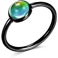 Ello Elli Minimalist/Dainty Style Stainless Steel Mood Ring