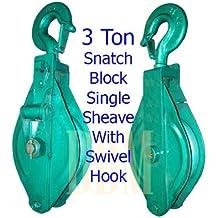 Amazon.com: 3 Ton - Snatch Blocks / Pulley Blocks: Industrial ...
